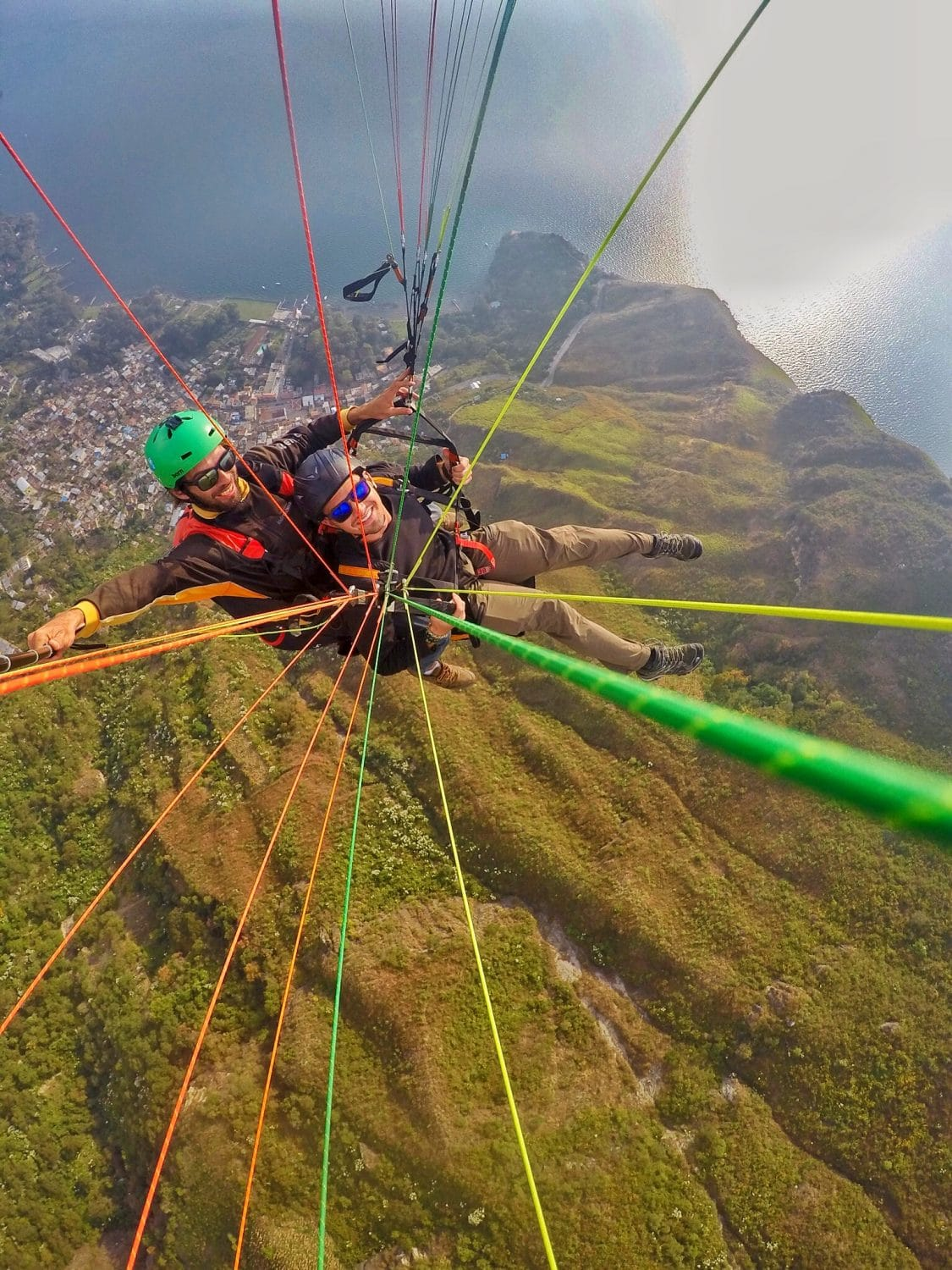 Paragliding in Guatemala
