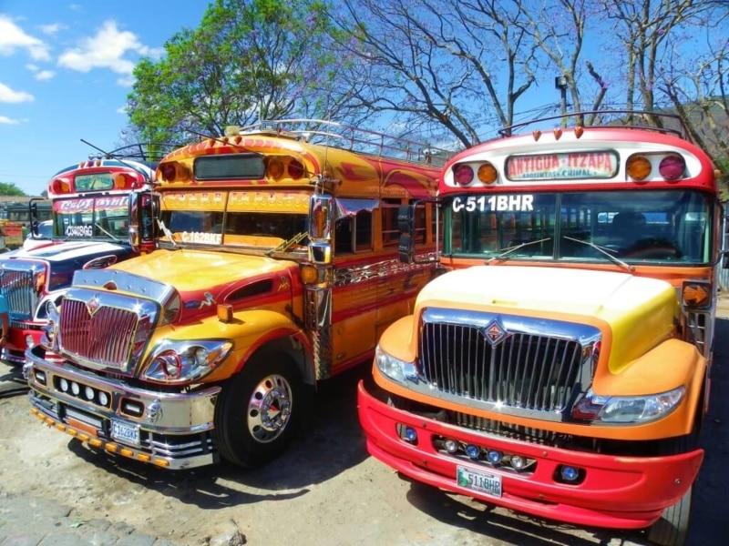 Guatemalan buses