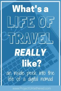What's a life of travel REALLY like? (Title Image)