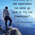 Personal development quotes by Oliver Wendell Holmes