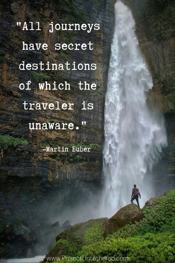 Martin Buber journey quotes