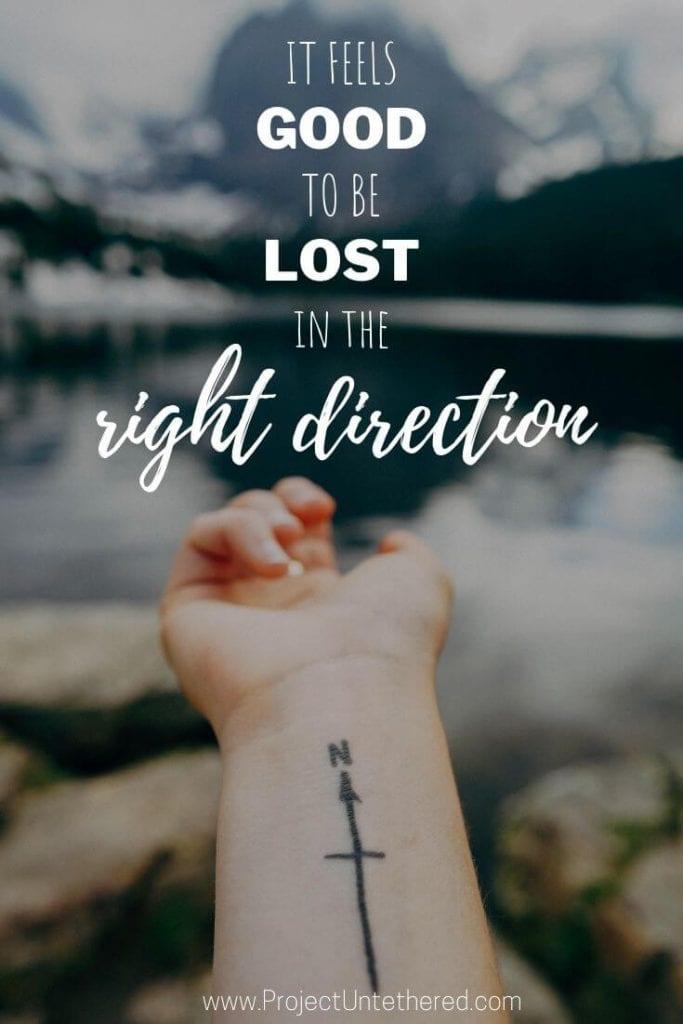 Inspiring adventure caption