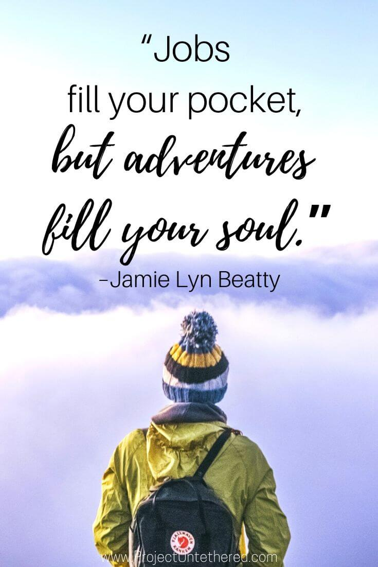 famous adventure quote by Jamie Lyn Beatty