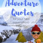 text overlay 158 inspiring adventure quotes for the perfect travel captions for instagram