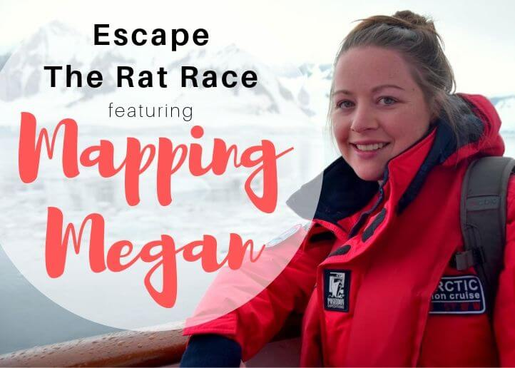 Feature Image - Escape the Rat Race with Mapping Megan