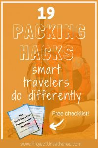 19 Packing Hacks Smart Travelers Do Differently (text title image)