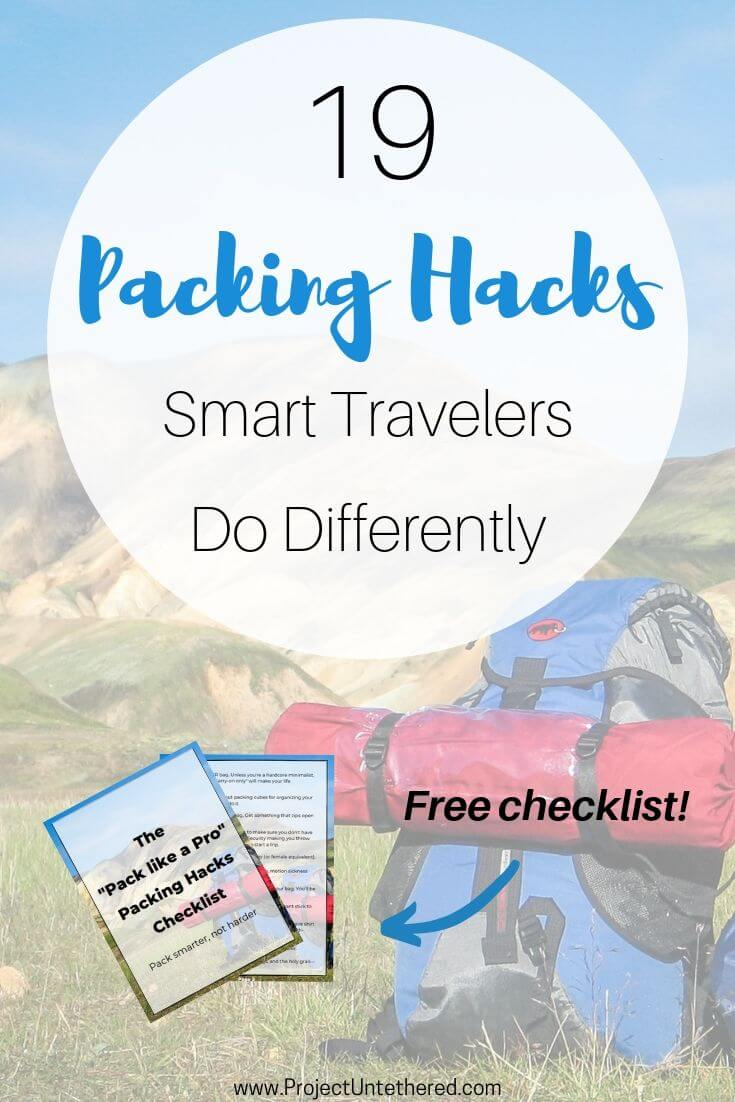 Don't be a noob. Check out these travel packing tips to learn how to pack your bags like a pro.