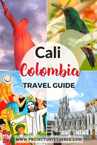 cali colombia travel guide - shots of Cali touristic sites