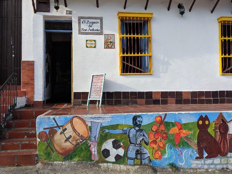 El Zaguan de San Antonio restuarant in Cali Colombia