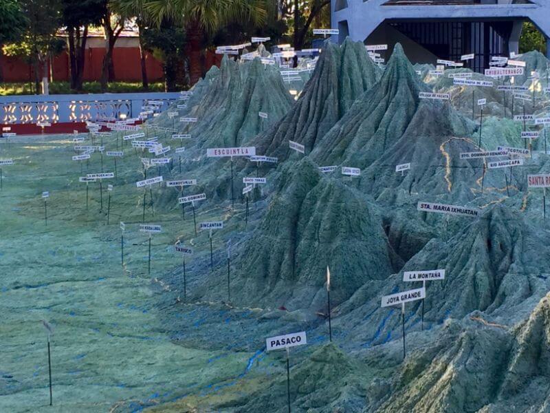 La Mapa de Relieve, Guatemala City, Guatemala