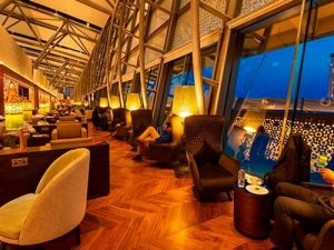Priority Pass airport lounge