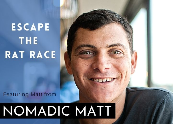nomadic matt escape the rat race thumbnail
