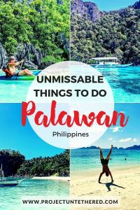 Palawan Philippines things to do - best beaches in palawan itinerary