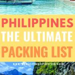 philippines beach pictures with text overlay philippines the ultimate packing list