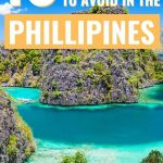 Philippines tips and what to avoid - limestone cliffs and blue water