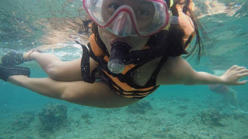 Snorkeling in Panglao