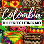 The perfect 3 weeks in Colombia itinerary - handmade bags