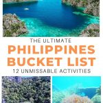 philippines pictures with text overlay philippines bucket list