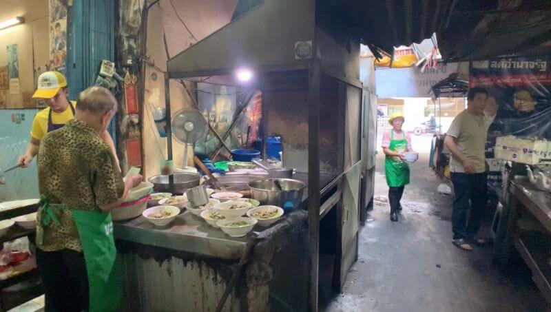 secret Bangkok street food stall