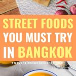 streets foods you must try in Bangkok pinterest image