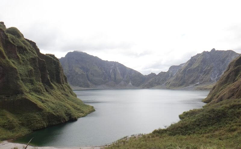 view of Mt. Pinatubo