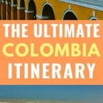 the ultimate 3 week colombia itinerary - photo of Cartagena and dunes
