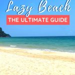 beach with text overlay Koh rong Samloem Lazy Beach The Ultimate Guide