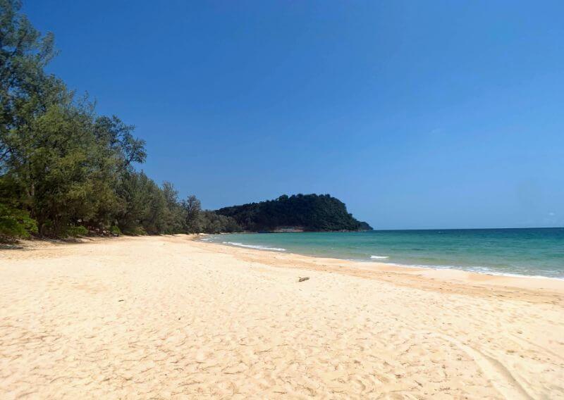 empty Lazy Beach on Koh Rong Samloem, Cambodia