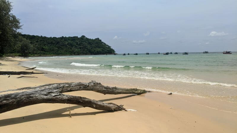 Military Beach (AKA Navy Beach) on Koh Rong Samloem, Cambodia