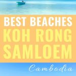koh rong samloem beach with text overlay best beaches koh rong samloem cambodia