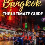 bangkok city picture with text overlay expat living in bangkok the ultimate guide