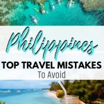 philippines pictures with text overlay philippines top travel mistakes to avoid