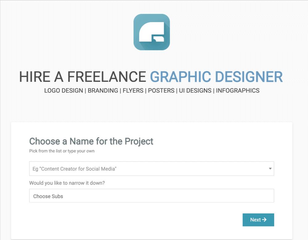 screenshot of Freelancer Club homepage
