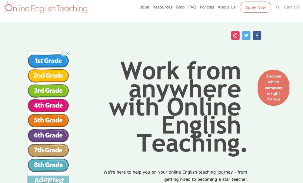 screenshot of palfish homepage