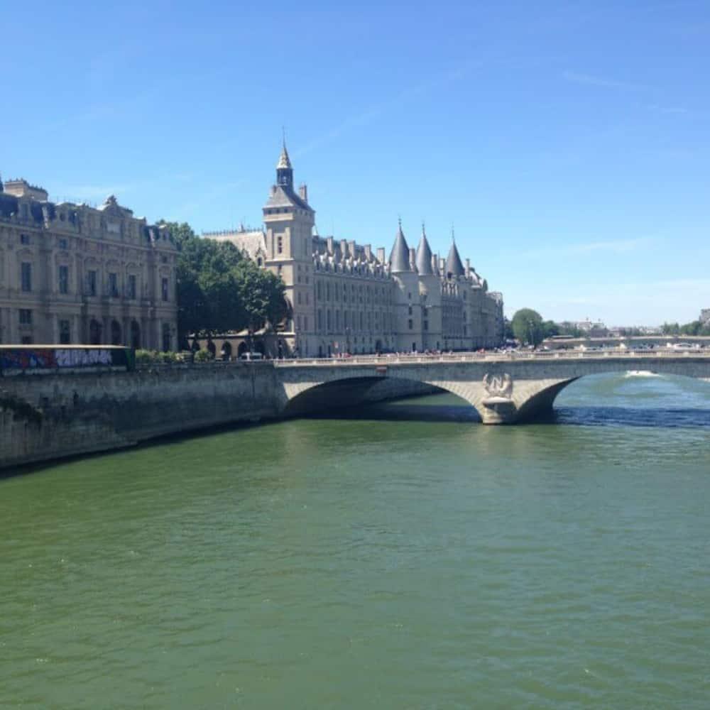 photo of Paris bridge