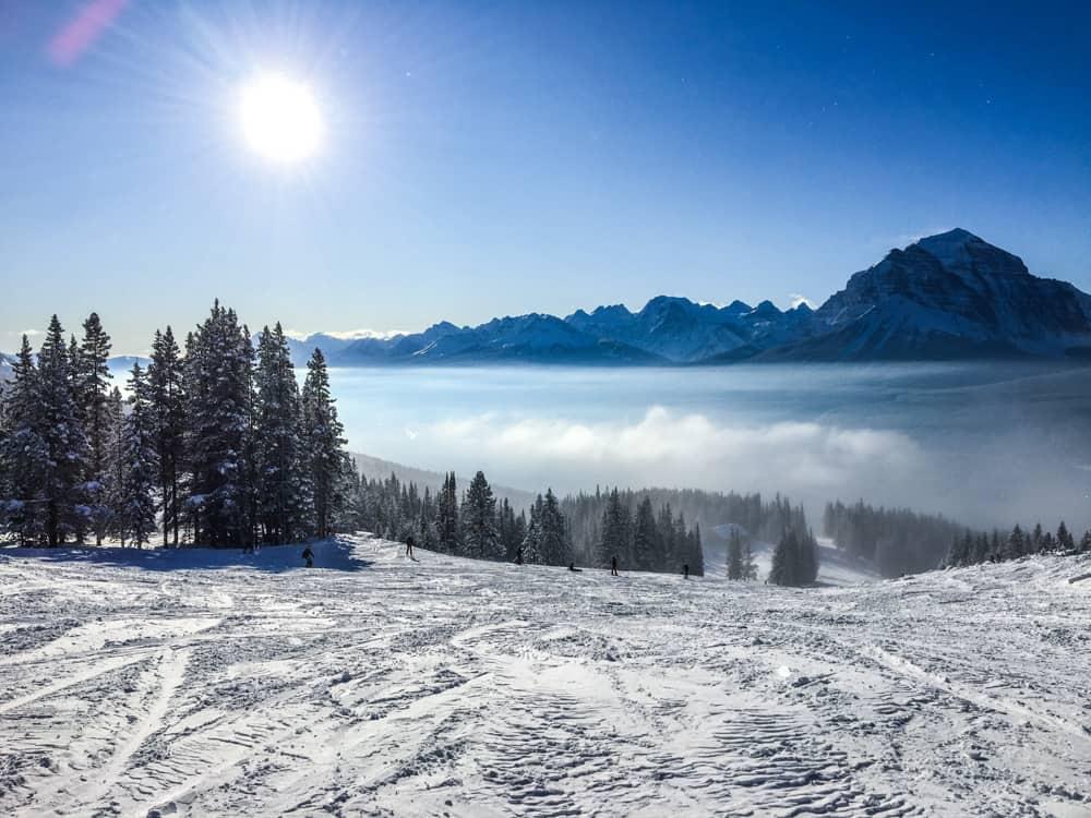 ski mountain in Canada