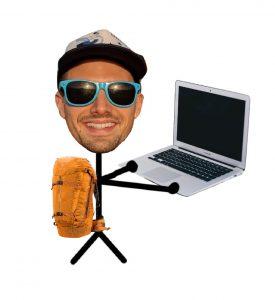 backpacker digital nomad
