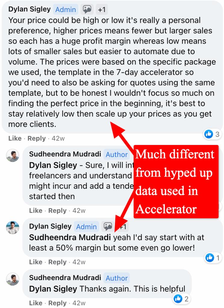 screenshot drop servicing facebook group