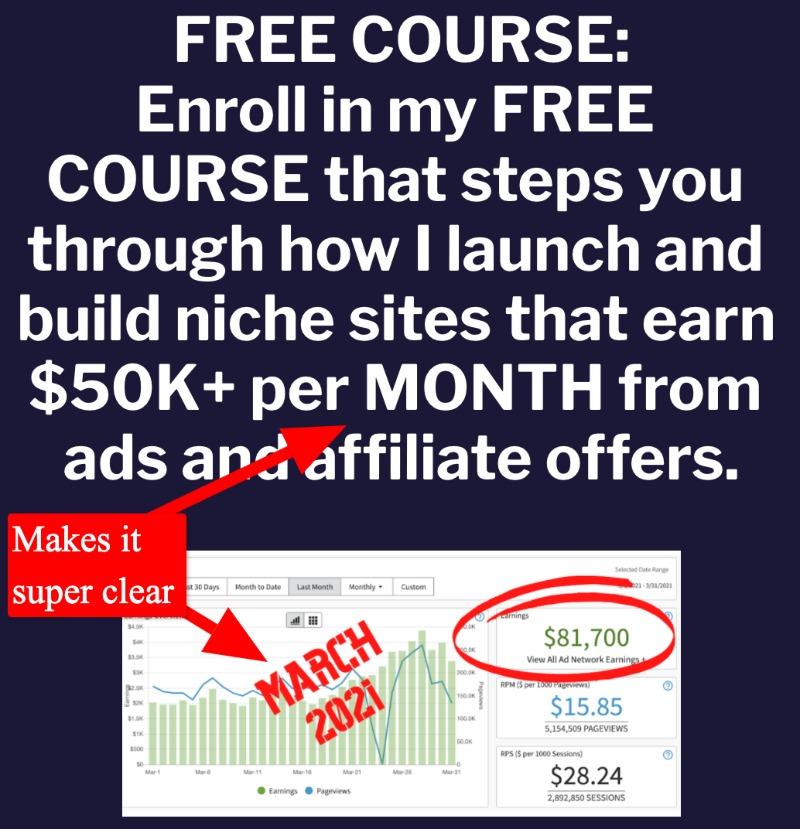 screenshot of fat stacks free course landing page